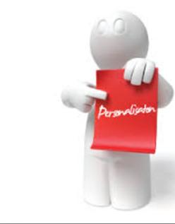 Maatwerk / personnalisatie