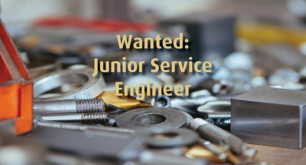 Junior Service Engineer gezocht!